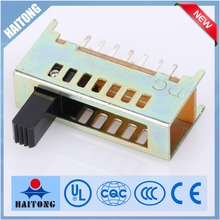 China overheat protection 4 position slide switch