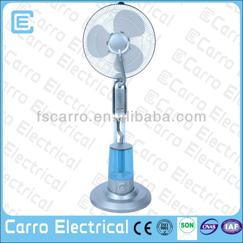 220v indoor misting fan indoor water mist fan industrial mist fan CE-1601
