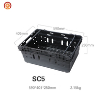 Oem Nestable And Stackable Vented Plastic Vegetable Crate/transport Crate/box