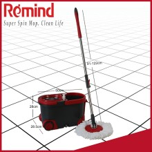 Platinum Whirlwind Easy Spin Mop with Stainless Steel Wringer Bucket