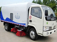 Cheap price of road sweeper truck Dongfeng Brand vacuum road sweeper truck road sweeper truck