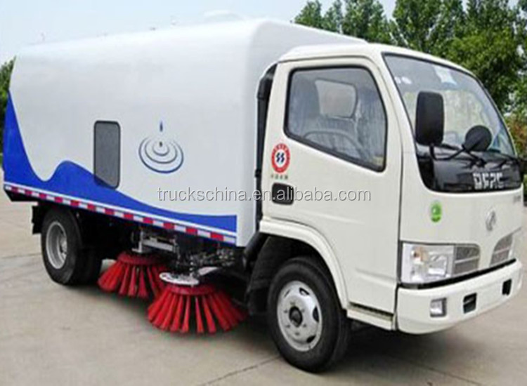 Cheap road sweeper truck Dongfeng 4x2 vacuum road sweeper truck for sale