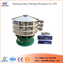 Food grade powder ultrasonic sieve filter machine export in china