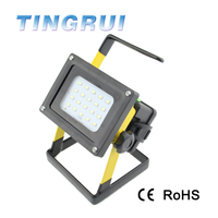 High Quality Zoom Focus Rechargeable Led Floodlight Outdoor Lighting