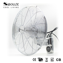 16 inch wall mounted metal fan with remote control