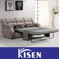 Fabric sectional modern recliner single sofa bed