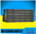 cisco 2960x gigabit catalyst switch WS-C2960X-48TS-LL
