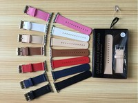 2015 fashionable leather band, high quality cheap band for apple watch