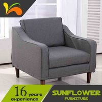 Modern Simple Indoor Fabric Hotel Furniture Sofa