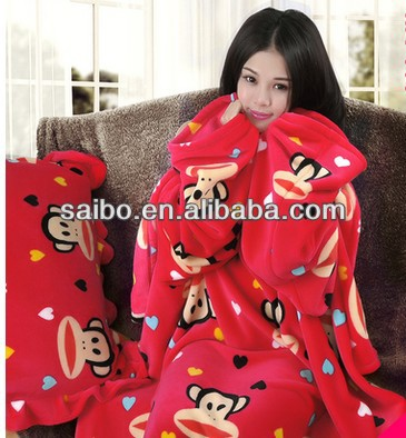 big mouth money customized printed snuggies for children