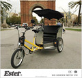 Ester 3Wheel Rickshaw/Bicycle Rickshaw with water proof canopy