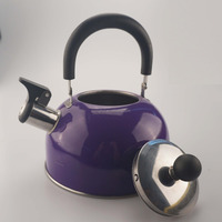 1.8L whistling kettle stainless steel material for body and nylon handle