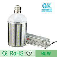 60W LED Corn bulb /street lighting components