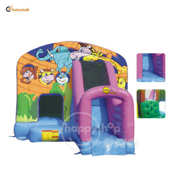 happyhop pro Slide Bouncer-1004A Super Commercial Bouncer with Slide