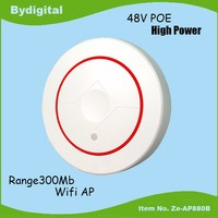 2.4G MIMO 4SSID 300Mbs wireless ceiling AP for hotel and office