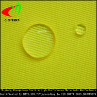 fluorescent 50 polyester 50 cotton fabric hi vis reflective fabric