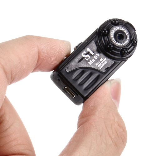 In stock HD <strong>1080P</strong> 12MP Security mini DV camera with Monitor Detection & IR Night Vision function