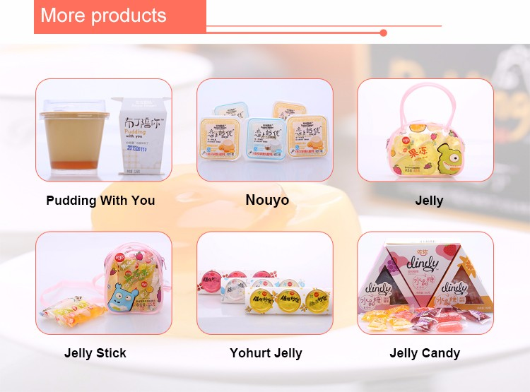 252g strawberry mango coconut milk flavor lactobacillus Nouyo fruit cup jelly