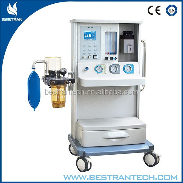 BT-2000J2A hospital 1 small vaporizer surgery anesthesia machine with one vaporizer