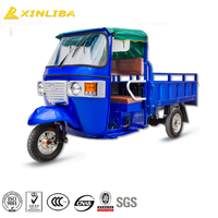 cargo tricycle kids tricycle with trailer cabin tricycle with enclosed cargo box