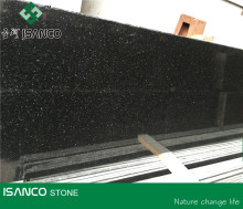 Polished Granite Big Slab Golden Black Galaxy Granite