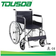 economic hospital folding manual wheelchair