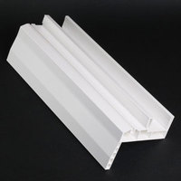American standard co extrusion upvc window and door profiles /huazhijie factory
