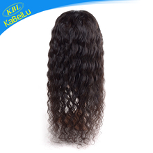 KBL-Perfect Lady yaki texture human hair wig, wet and wavy full lace wigs under 100