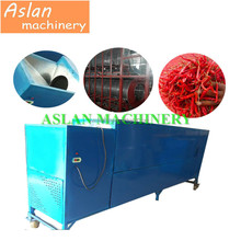 dry hot pepper stem cutting machine/industrial red pepper stem removing machine
