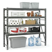 portable rack shelf, nsf storage shelf metal rack, steel heavy goods shelf
