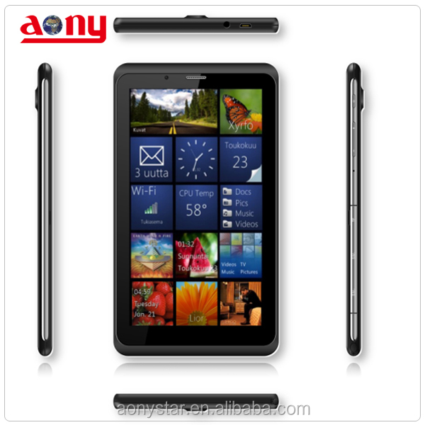 7 inch Quad-core tablet PC ,3G tablet PC