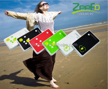 safe eco-friendly over-discharging protection for hiking wallet size solar charger for mobile
