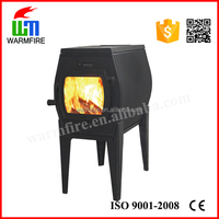 Indoor Free Standing Cast Iron Wood Fireplace