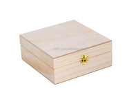Wooden Essential Oil Box - Holds 25 (5-15 ml) Essential Oil Bottles - Perfect Essential Oils Case for Traveling and Presentation