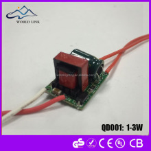 Customized EMC compliant 10W T8 T5 LED Driver for Tube Light