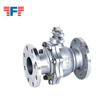 2017 High quality flange ball valve