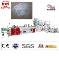 CW-800SBD+ZP full automatic side seal hot cutting plastic bag making machine