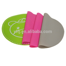 factory supply silicone placemat table dish mat