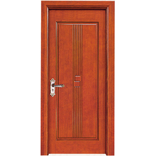 HS-YH8019 lead lined 43mm melamine painting strong room laminate flush solid wooden doors
