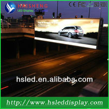True color front accessible-outdoor advertising led pylon sign P16mm with high definition