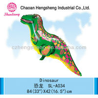 China advertising inflatable cheap dinosaur toys