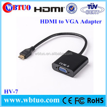 New arrival OEM vga to hdmi cable 1080p