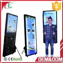 2018 new advertising promotional with scrolling message display backpack light box