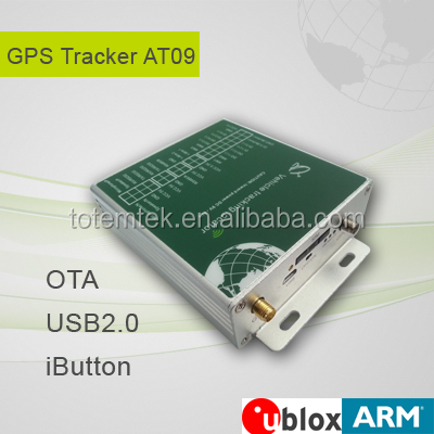 Build-in li-polymer battery gps tracking device long battery life with U-blox GPS chipset