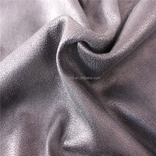 High quality suede sofa fabric with fleece
