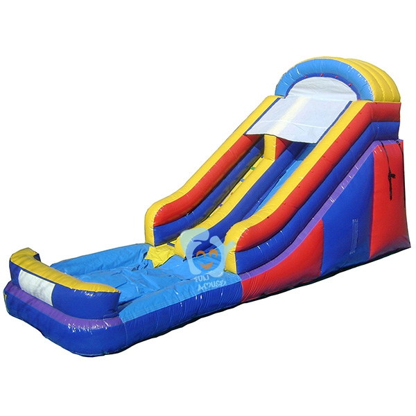 commercial grade pvc tarpaulin industrial inflatable water slide