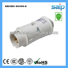 IP44 2P Industrial plug and socket 40-50V
