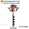Professional hollow ground drill mini digger for garden hand auger ice