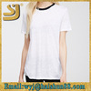 western new fashion white blank t-shirt,blank sports dry fit t-shirts
