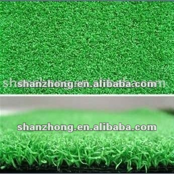 China good quality la hierba de golf/golf grass mat